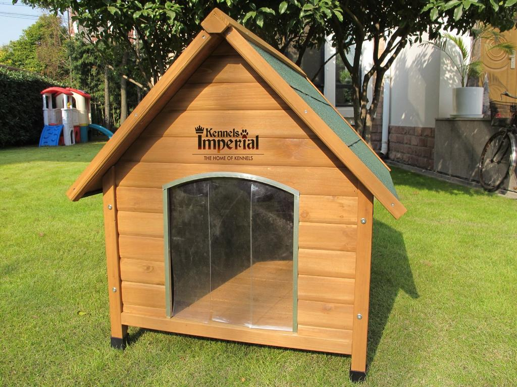 Acheter une niche pour chien en bois prix avis et for Cancelletto per cani da esterno