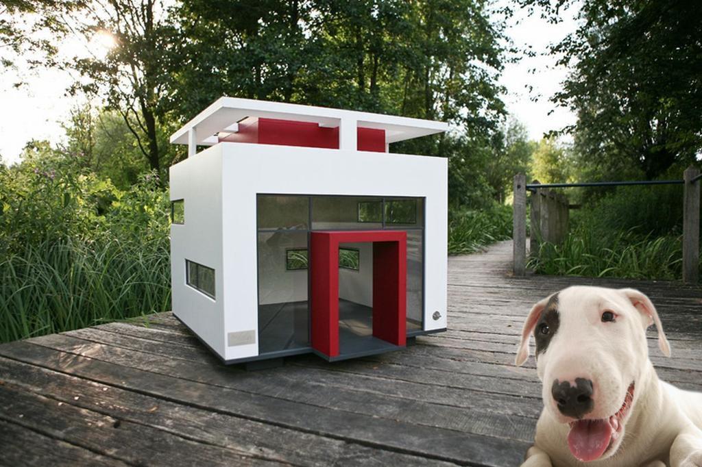 niche de luxe pour chien