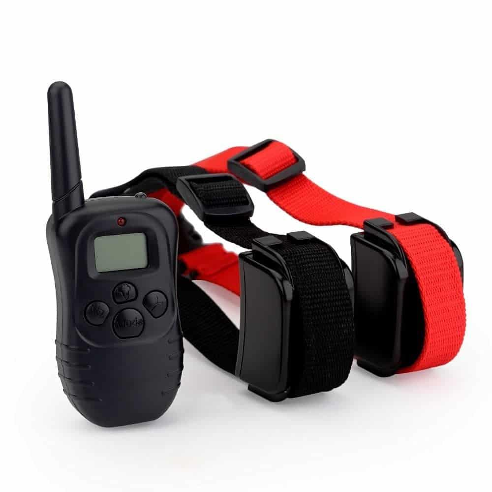 collier anti aboiement collier de dressage pour chiens avec son vibration pour chien tanche. Black Bedroom Furniture Sets. Home Design Ideas