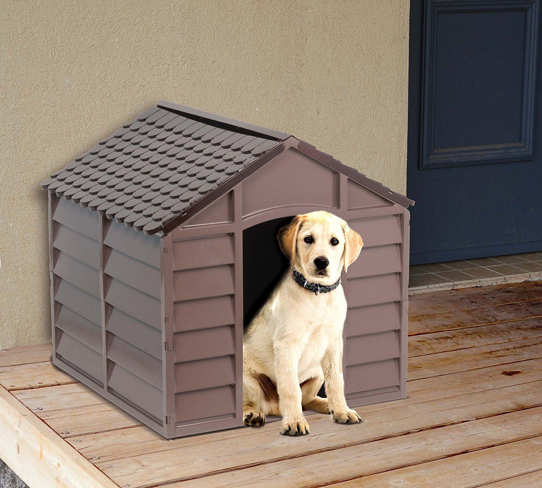 acheter une niche pour chien en plastique prix avis et comparatif. Black Bedroom Furniture Sets. Home Design Ideas