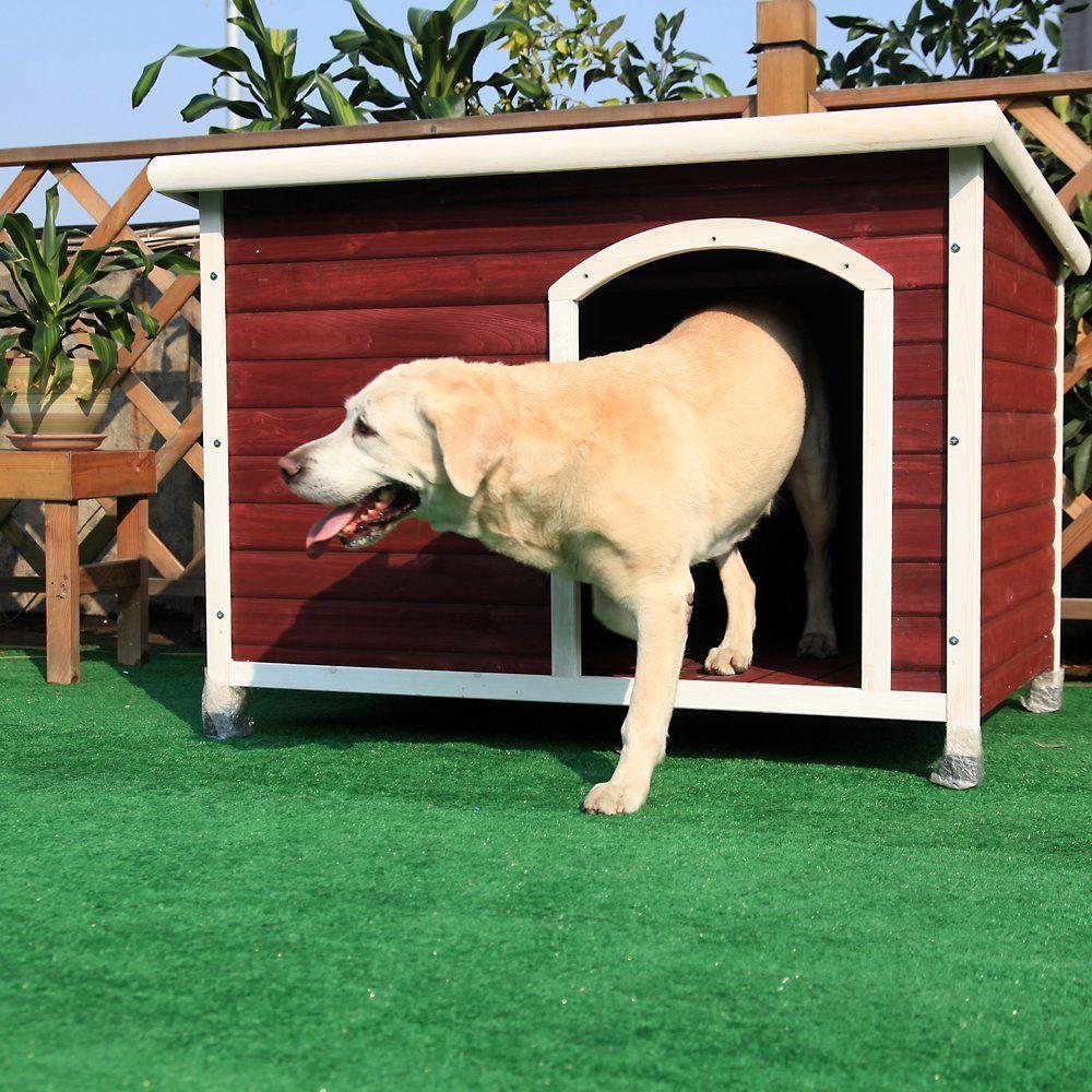 acheter une niche pour chien en bois prix avis et comparatif. Black Bedroom Furniture Sets. Home Design Ideas