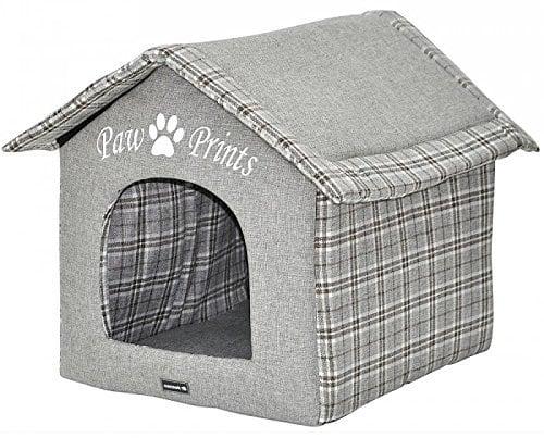 niche pour petit chien en tissu
