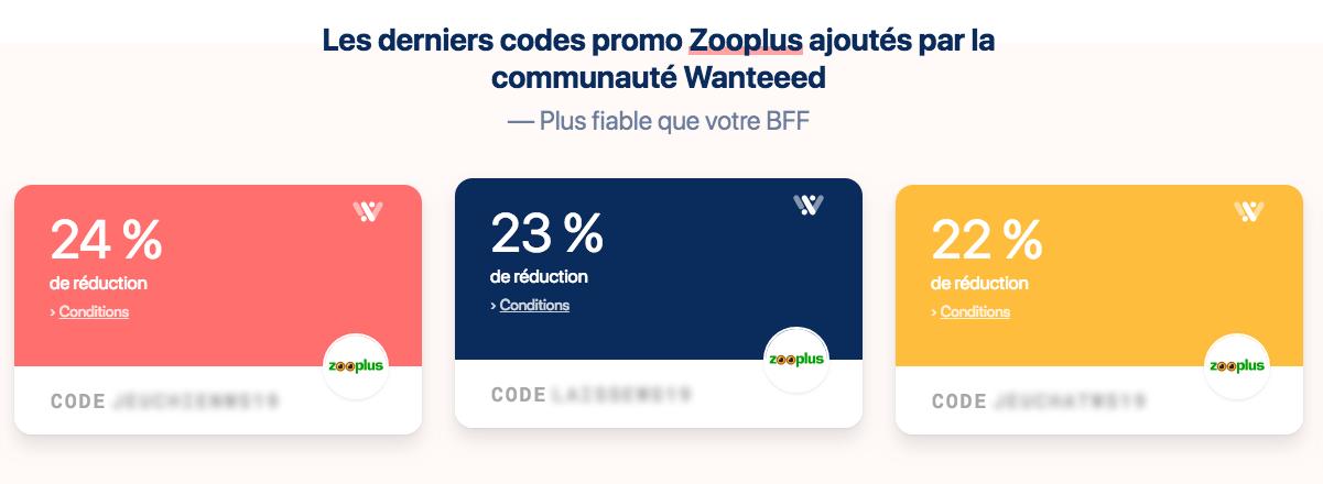 code zooplus wanteeed